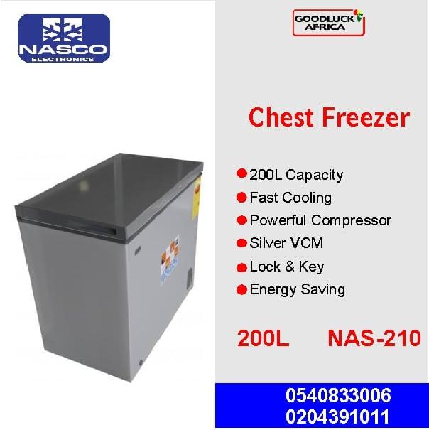 NASCO 200l chest freezer