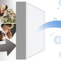 Binatoner air purifier Hepa virus filter