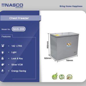 Nasco 142 Liter deep freezer