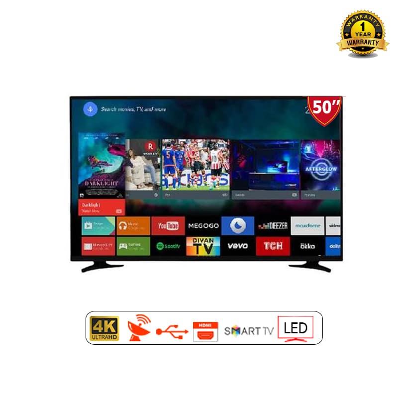 Chigo 50 Inch 4K Smart TV